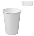 Castaway Cup 12oz  Paper Single Wall White 1000 Carton