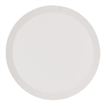 Five Star Paper Round Dinner Plate 9 White 10 Pack