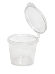 Portion Cup with Lid 1oz35mL 200 Pack