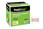 Rapid Clean Toilet Paper 2Ply 400 Sheets 48 Carton 77560